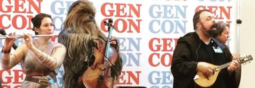 il Troubadore and the Wookiee Cellist
